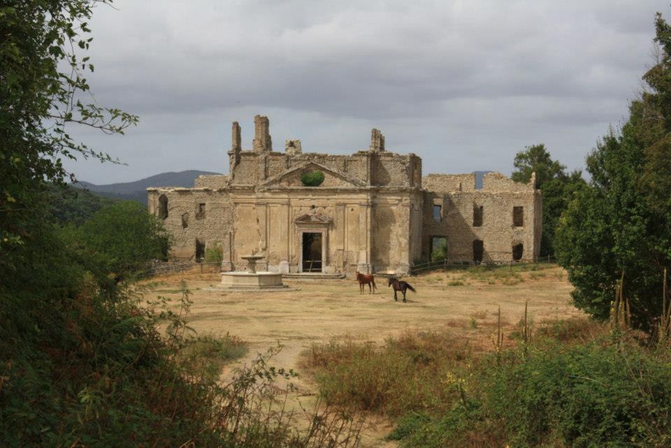 1° maggio nella città fantasma di Monterano